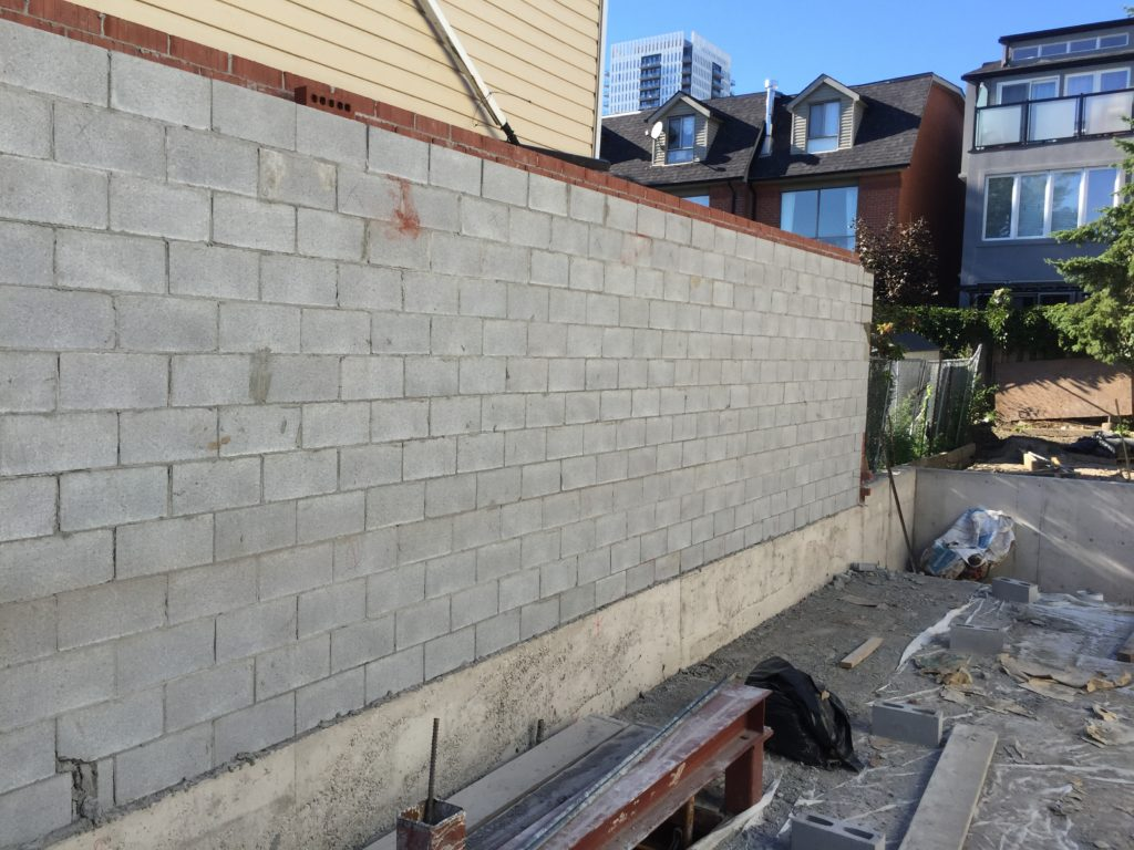 Structural Block Double Wall Bond Masonry Ltd