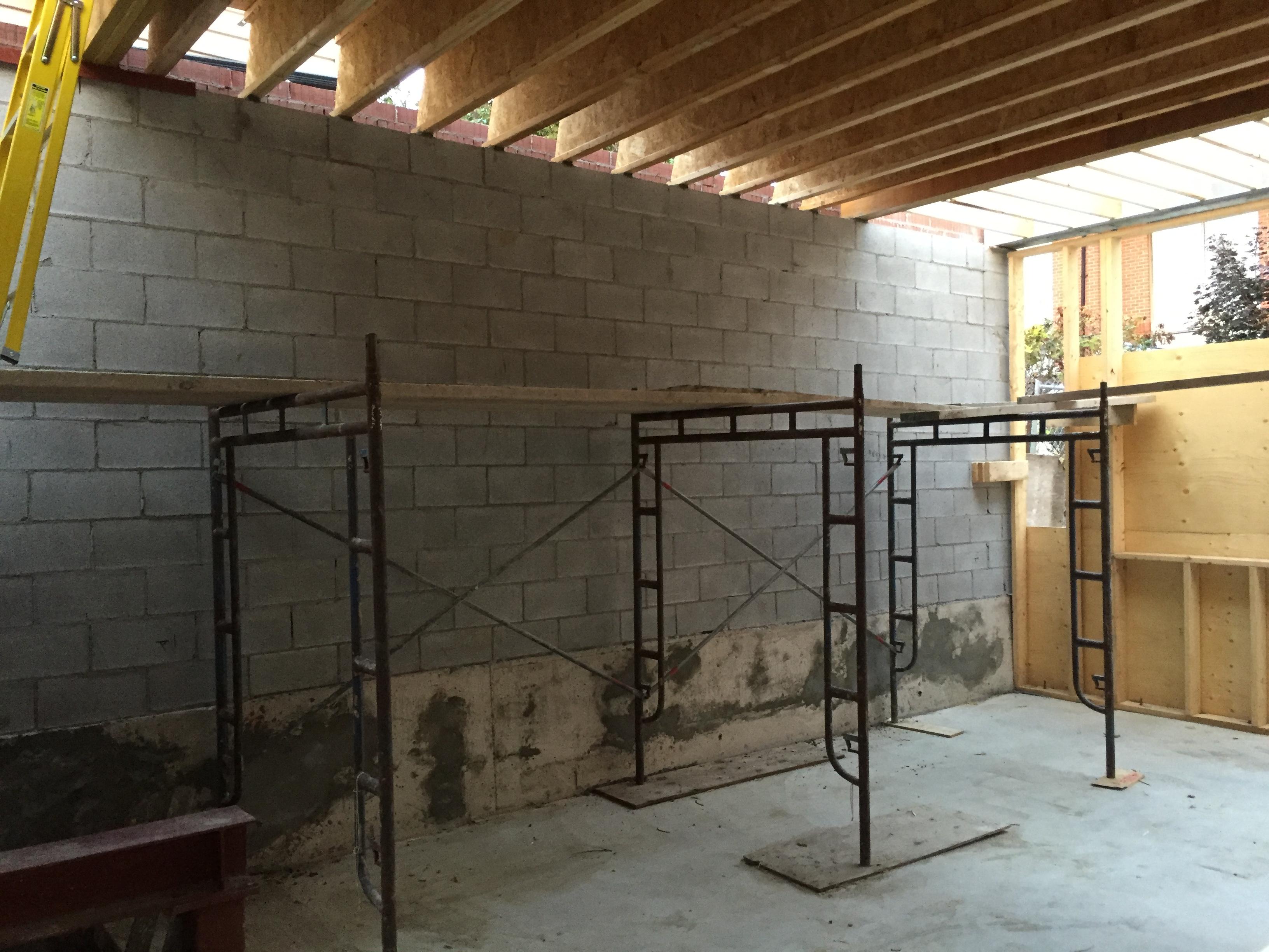 Structural Block Double Wall Bond Masonry Ltd