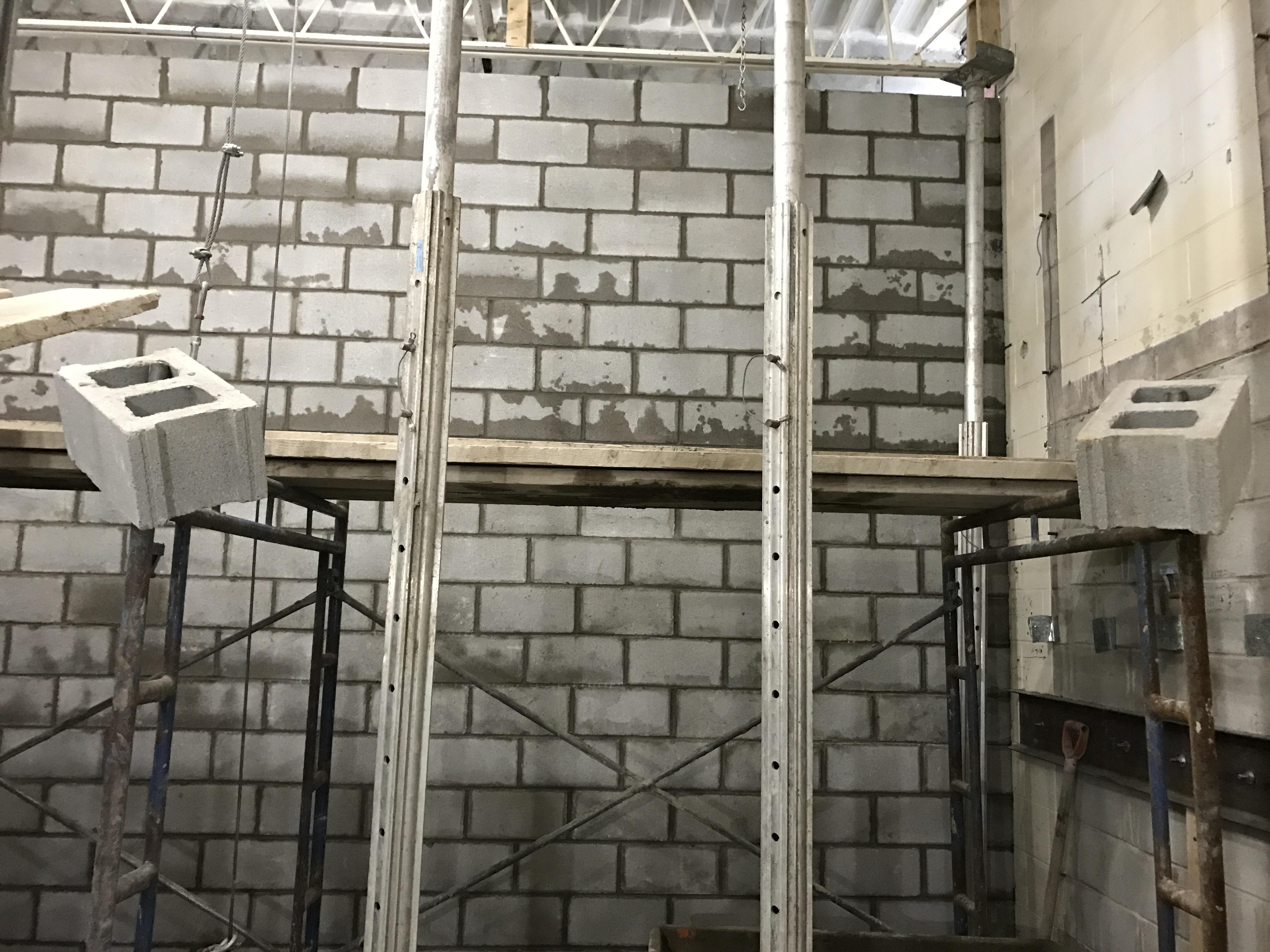 Heavy Duty Block Wall Bond Masonry Ltd