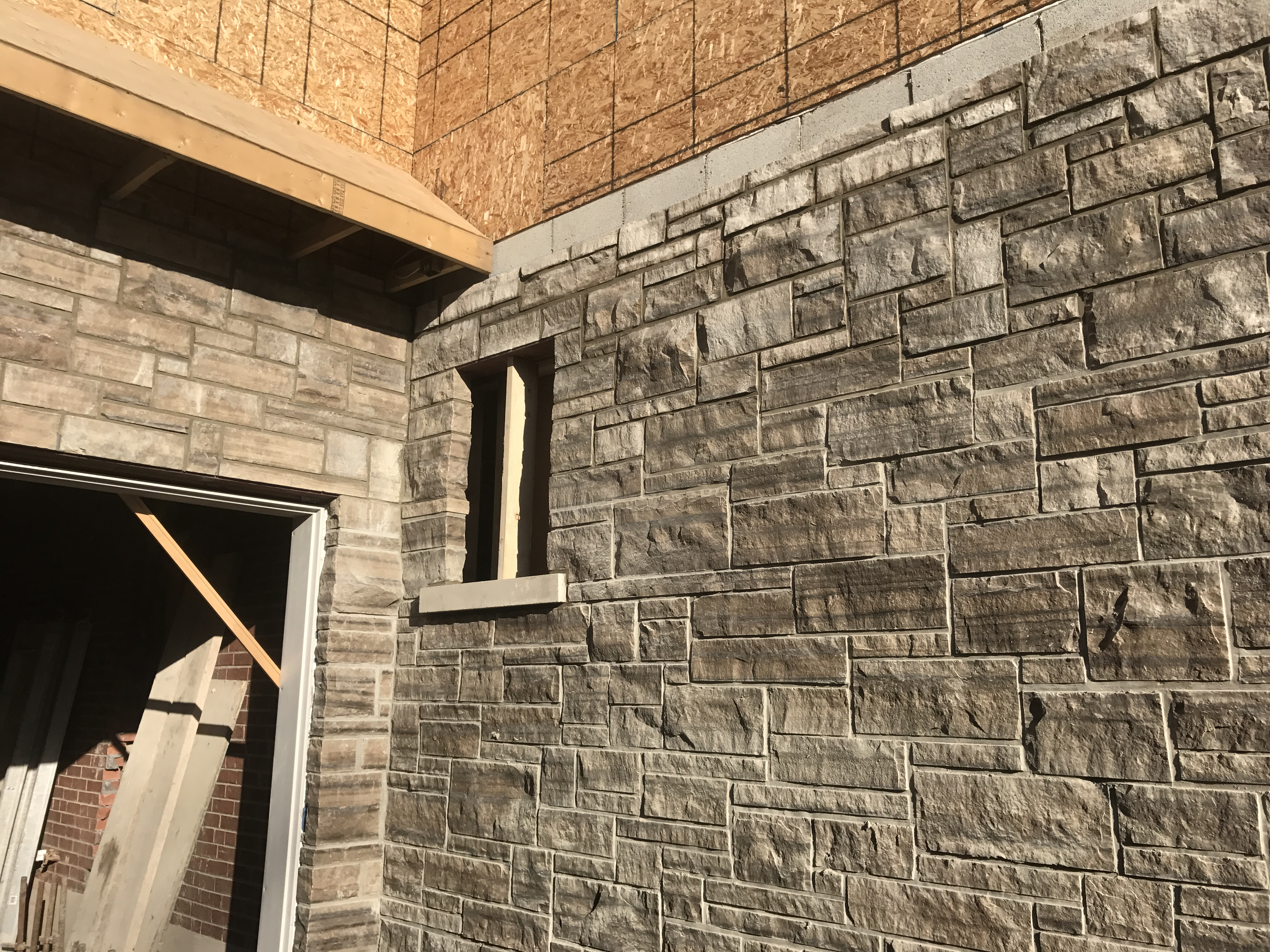 Natural Stone Custom Home Bond Masonry Ltd